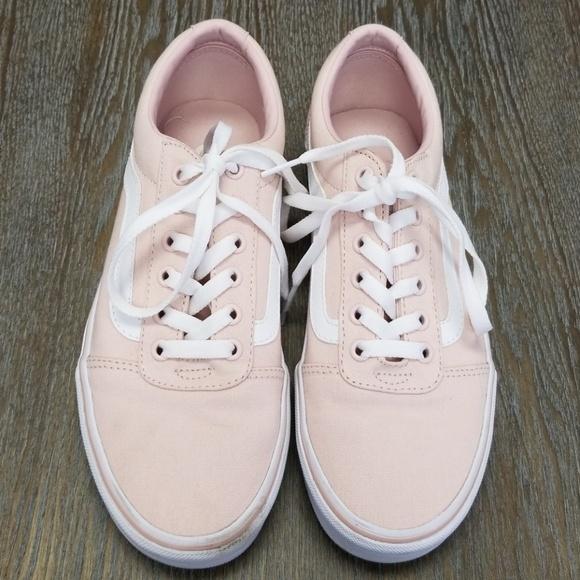 64537e7b8702 Vans Ward Sepia Rose Canvas Shoes Sz 8. M 5b2d7f522e1478be27004e5d
